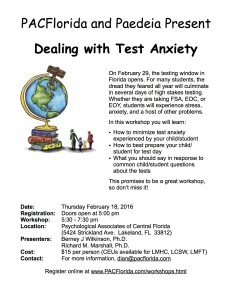 Dealing with Test Anxiety 2.18.16 Flier