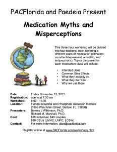 Med Myths Workshop 11.13.15 Flier